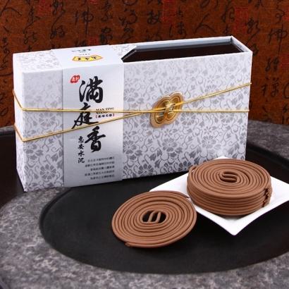 【滿庭香】小盤香-惠安水沉007每盒48捲