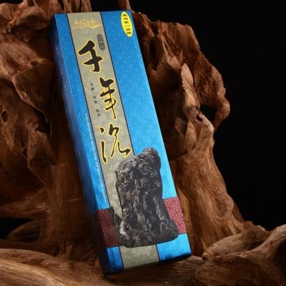 【滿庭沉香】E-3382微煙千年沉33公分立香